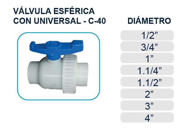 valvula-esferica-bola-universal-cedula-40-agua-piscina-los-hidros-riobamba-quito-latacunga-ecuador