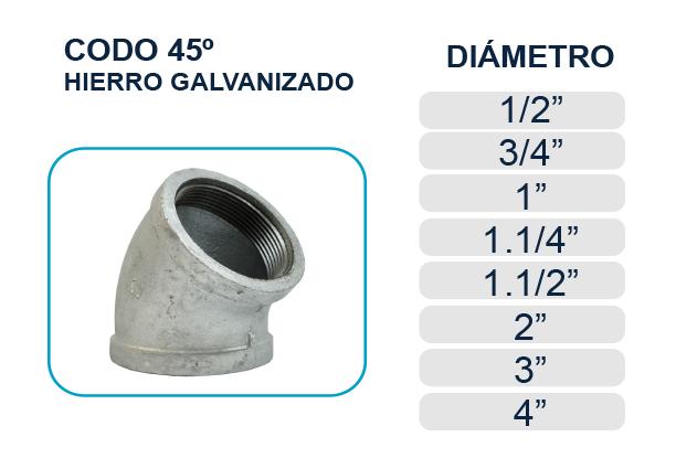 codo-45-hierro-galvanizado-agua-los-hidros-riobamba-quito-latacunga-ecuador