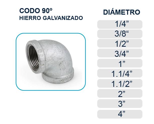 codo-90-hierro-galvanizado-agua-los-hidros-riobamba-quito-latacunga-ecuador