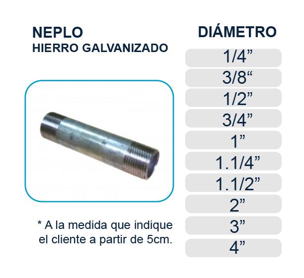 neplo-tramo-hierro-galvanizado-agua-los-hidros-riobamba-quito-latacunga-ecuador