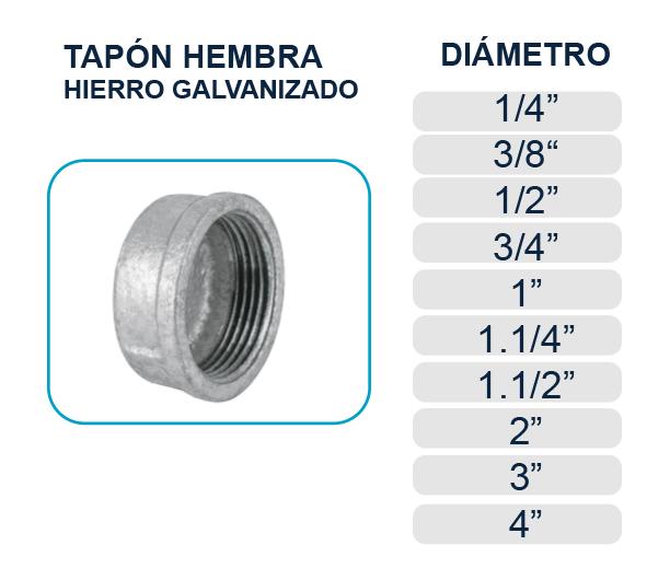 tapon-tapa-hembra-hierro-galvanizado-agua-los-hidros-riobamba-quito-latacunga-ecuador