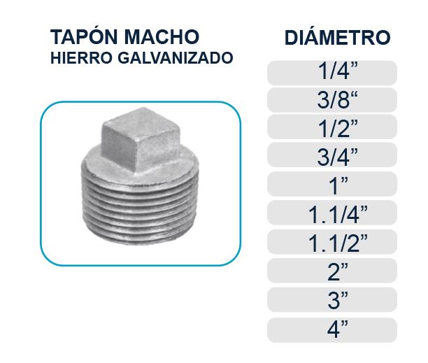 tapon-tapa-macho-hierro-galvanizado-agua-los-hidros-riobamba-quito-latacunga-ecuador