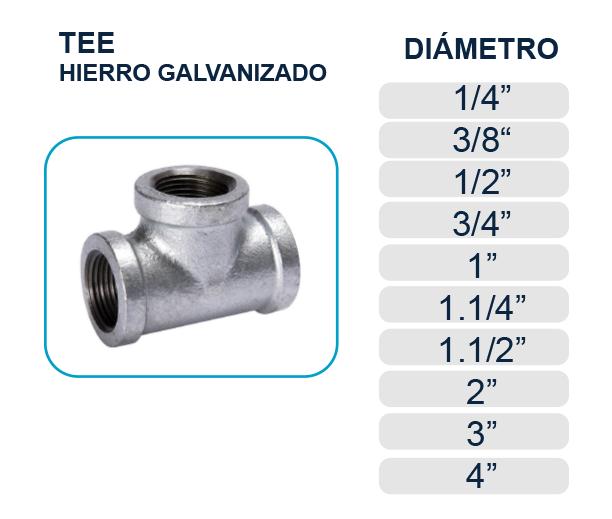 tee-hierro-galvanizado-agua-los-hidros-riobamba-quito-latacunga-ecuador