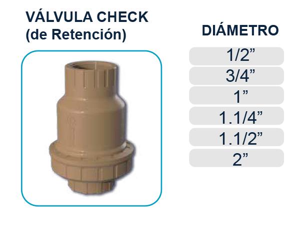 valvula-check-retencion-roscable-agua-potable-riego-tigre-plastigama-riobamba-quito-ecuador