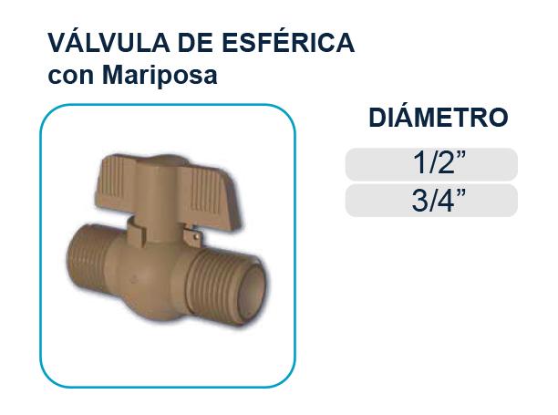 valvula-mariposa-roscable-agua-potable-riego-tigre-plastigama-riobamba-quito-ecuador